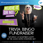Trivia Bingo Fundraiser! (EVENT POSTPONED UNTIL EARLY 2020)